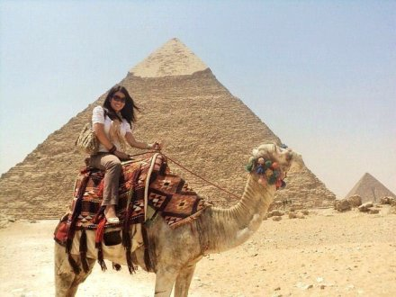 "alt= ""Vanessa Panaligan in Egypt"""